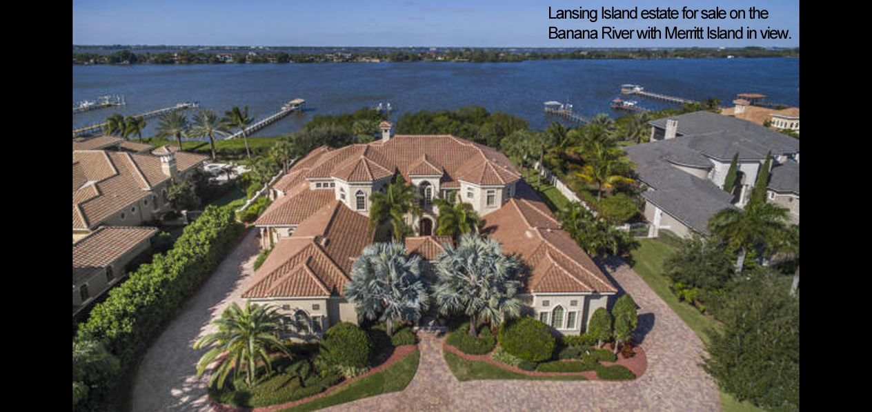 lansing island estate homes