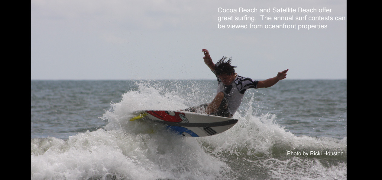 cocoa beach surfing