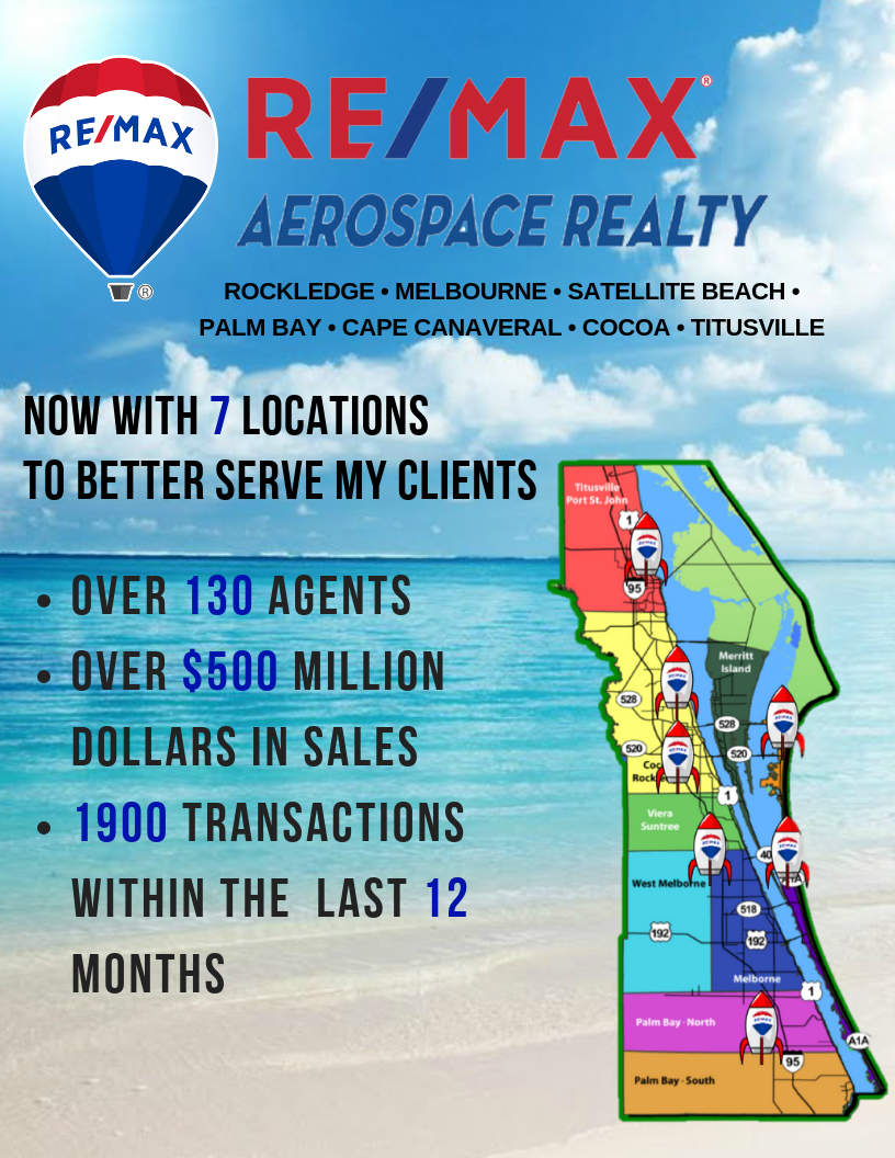 Rick Houston with ReMax Aerospace Realty